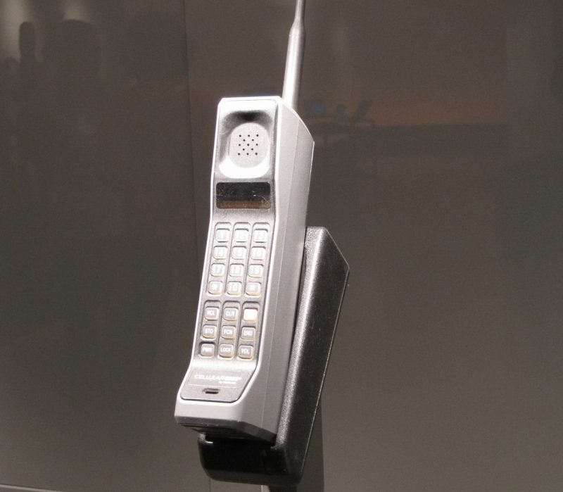 Before texting there were brick phones.