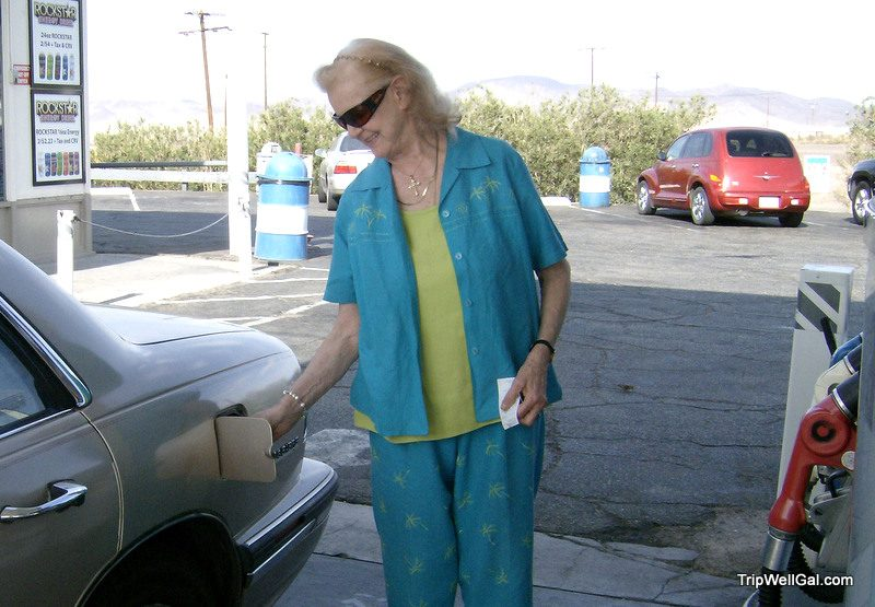 Get out while you can.Gassing up on the Arizona Highway