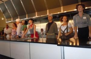 Trolley dances international cooking school