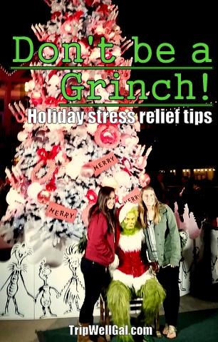 Grinch Tree Holiday Stress Pin
