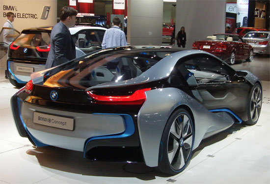 BMW iE Concept LA Car Show