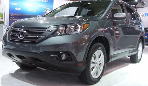 Honda CRV 2012 LA Car Show