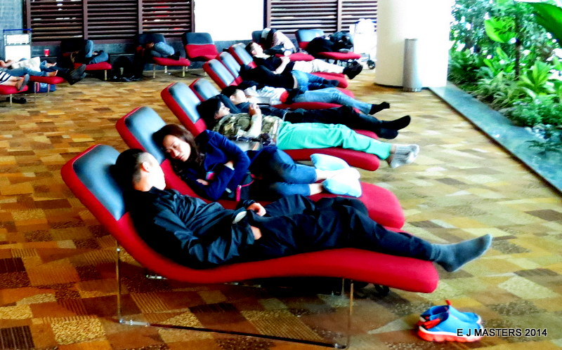 Snooze Changi airport