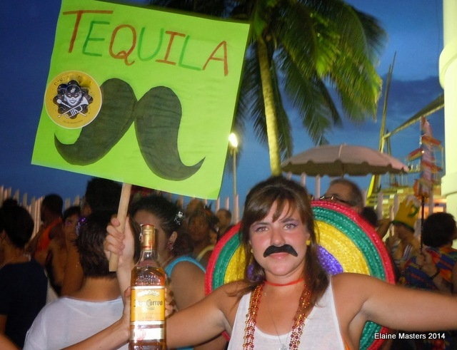 Tequilla girl, Trip Wellness, spring break travel