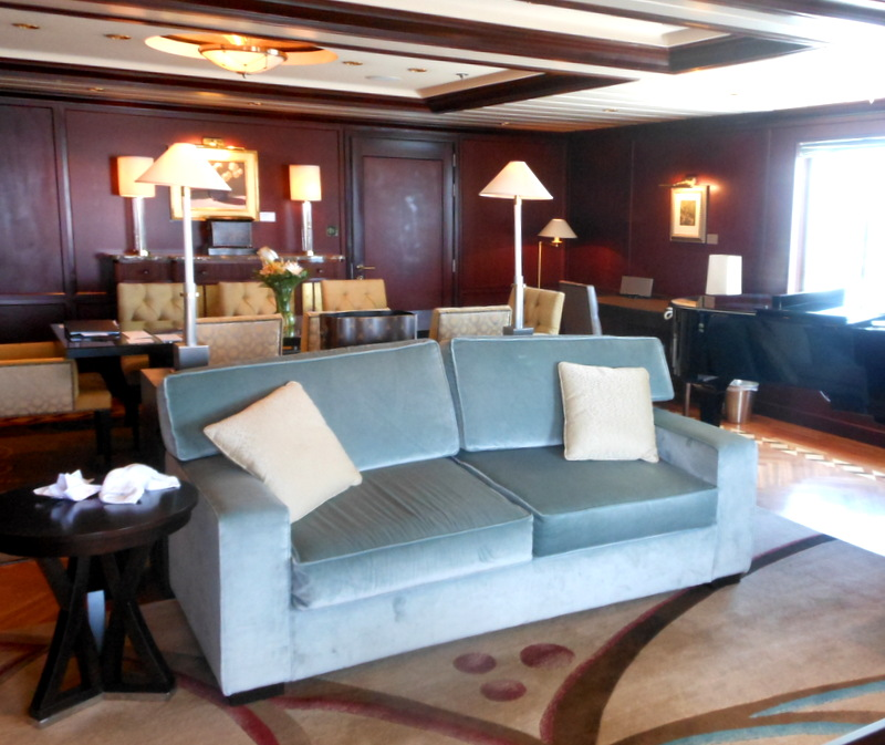 Penthouse suite,trip wellness, luxury cruising