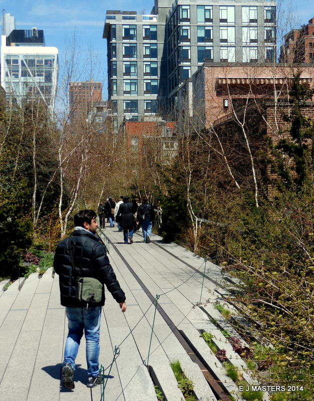 Highline Park, NYC, trip wellness, walking tours in new york