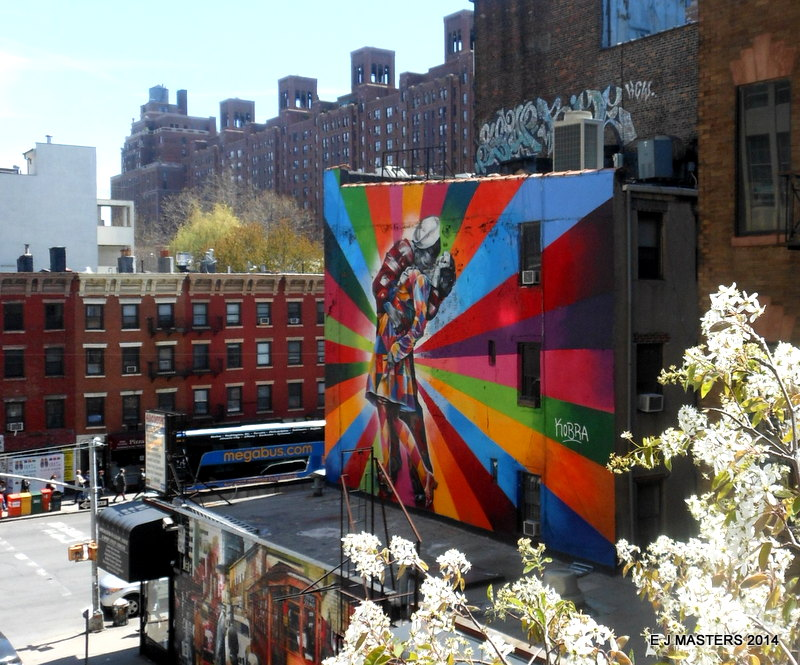 Highline Park view, NYC, trip wellness, walking tours in new york