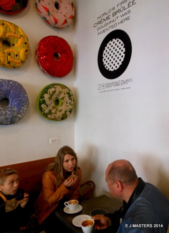 doughnut plant chelsea, trip wellness, walking tours in new york