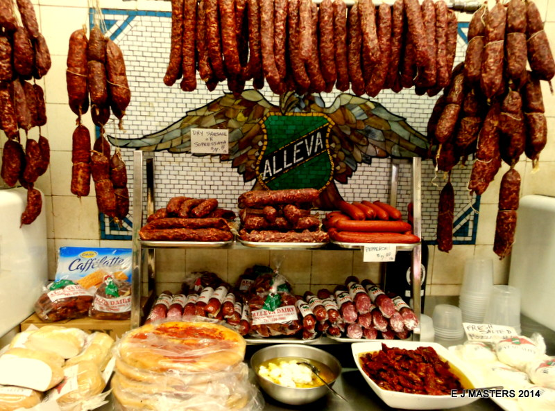 alleva italian deli, trip wellness, walking tours in new york