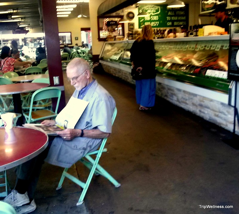 the original los angeles farmers market, trip wellness