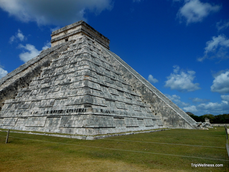 Chichen Itza temple, trip wellness