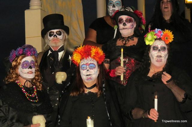Day of the Dead choir, 2013. Trip Wellness