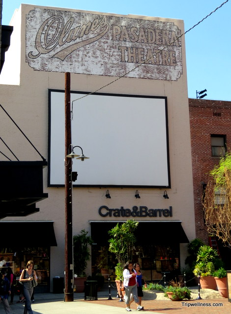 Clunes Pasadena Theater, ghost signs, tripwellness