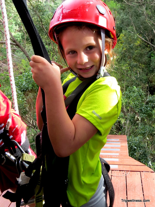 morgan, zipline adventures, trip wellness, piiholo zipline
