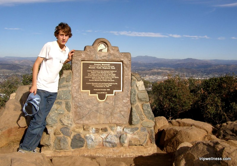 Cowles Mountain, trip wellness, what to see in San Diego