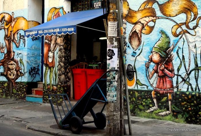 Rio de Janeiro graffiti has its moment