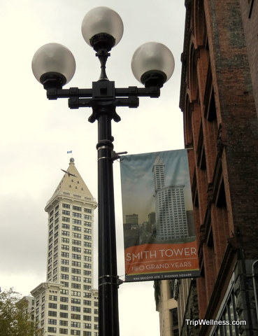 Smith Tower, What to do in Seattle, Trip Wellness