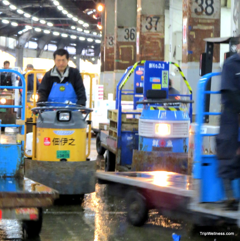 What to do in Tokyo, Tsujiki fish market, Trip wellness, racing carts