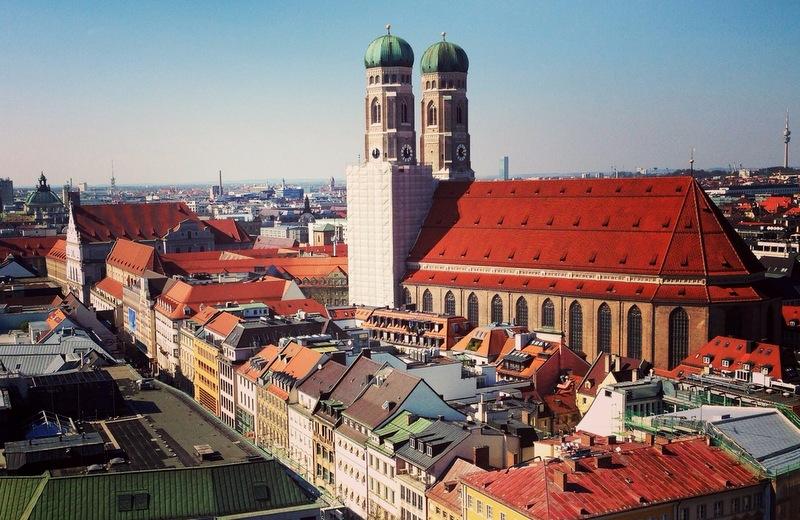 Rooftops of Munich, trip wellness, Best of Munich
