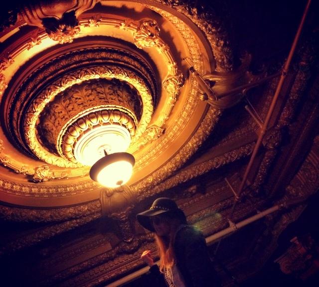 Alexandria Hotel ceiling Nicho Onufer