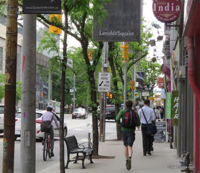 Toronto street scene.