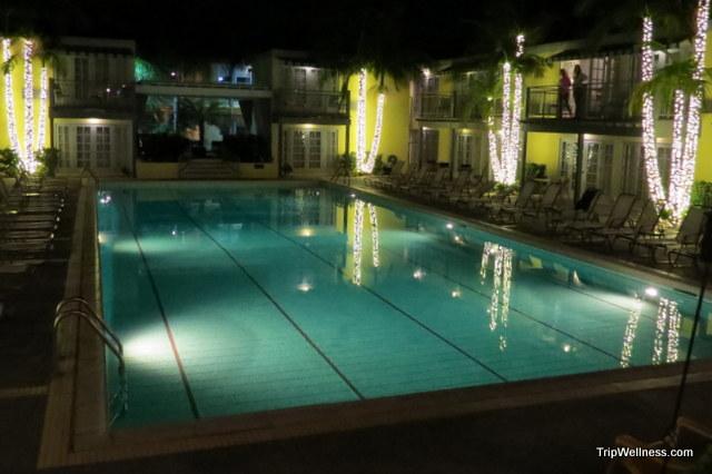 Lafayette Swim Club and Bungalows. San Diego luxury pools, trip wellness