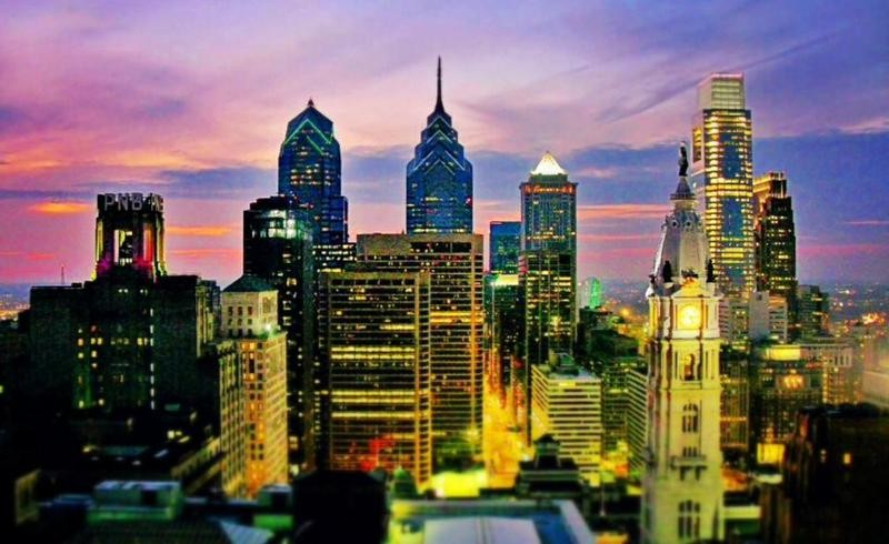 Philadelphia skyline. Photo Megan Smith via Trover