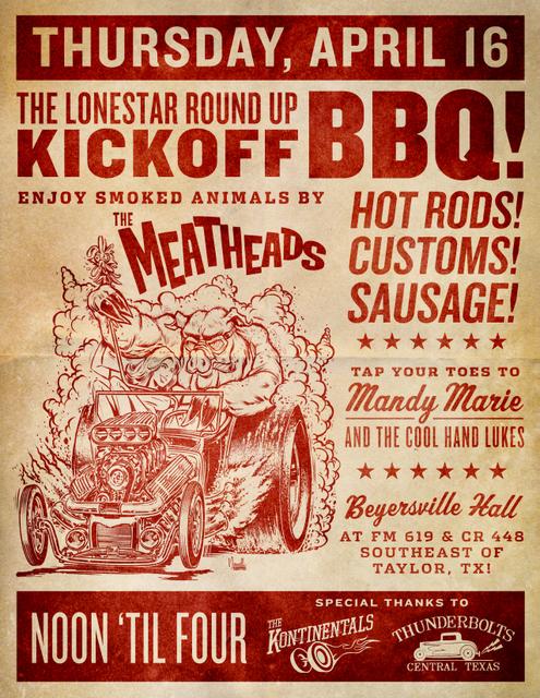 Lonestar Roundup BBQ, trip wellness, austin