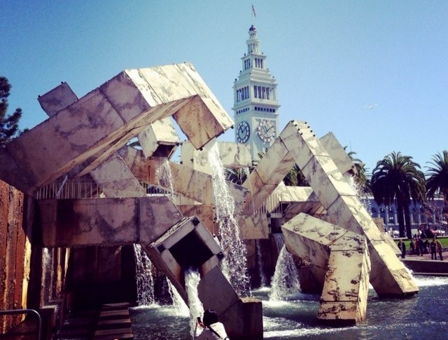 Justin Herman Plaza, Walking San Francisco, trip wellness