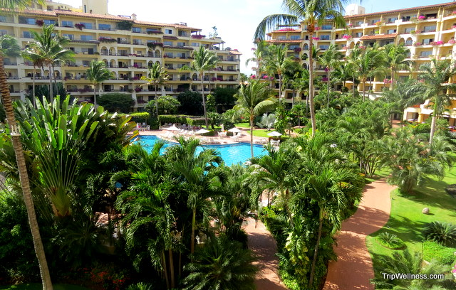 A room with a view - the Velas Vallarta resort. Boutique hotels in Puerto Vallarta. Tripwellness