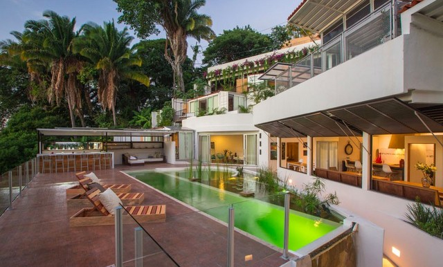 Nemi Eco Villa pool. Boutique hotels in Puerto Vallarta. Trip wellness