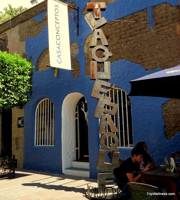 Tlaquepaque sign, Guadalajara