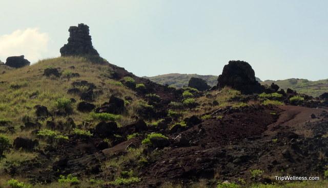 Lanai lava formations