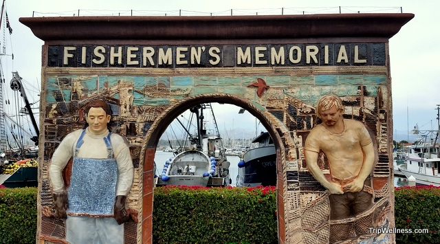 fisherman's memorial, Ventura harbor