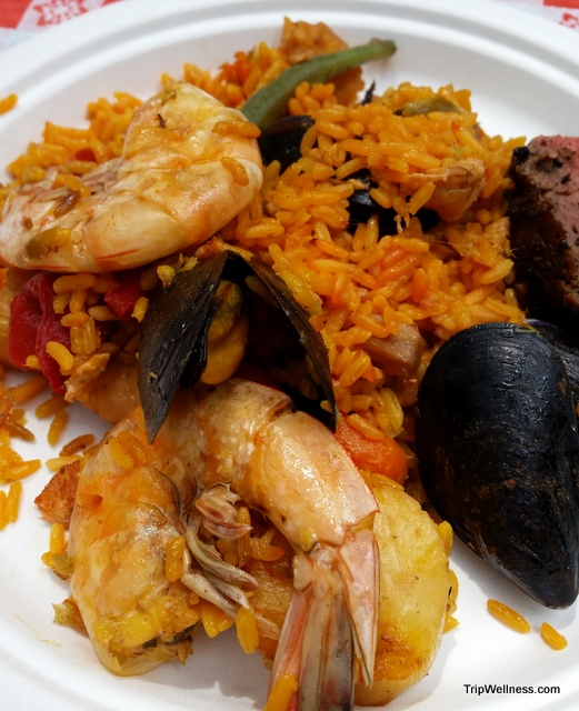 Plateful of Paella