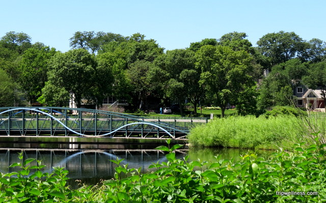 Bridge near Lake Harriet in Minneapolis