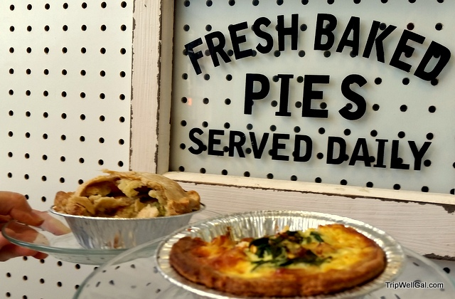 Pies at P's & Q's, New Orleans