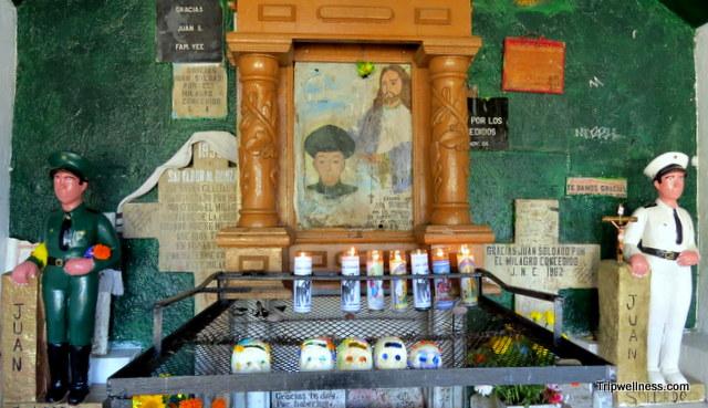 Juan Soldaldo altar, Tijuana