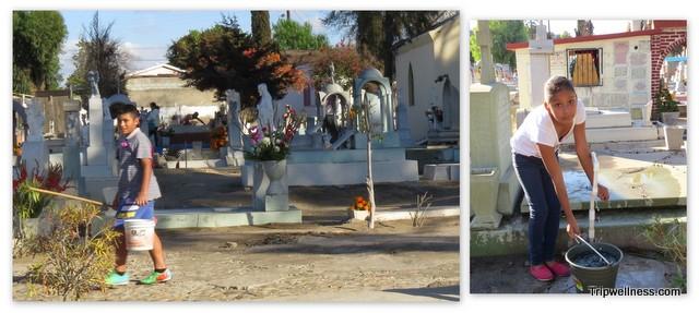 Grave washers, Tijuana
