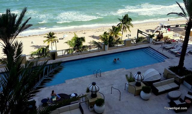 Room view, Atlantic Hotel, Fort Lauderdale