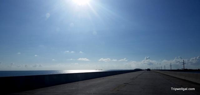 long road sunlight