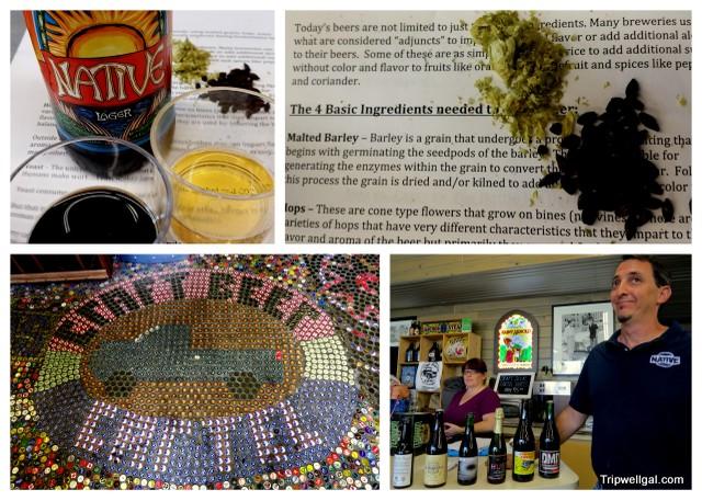 Beer ingredients and tasting at the Craft Beer Cartel.
