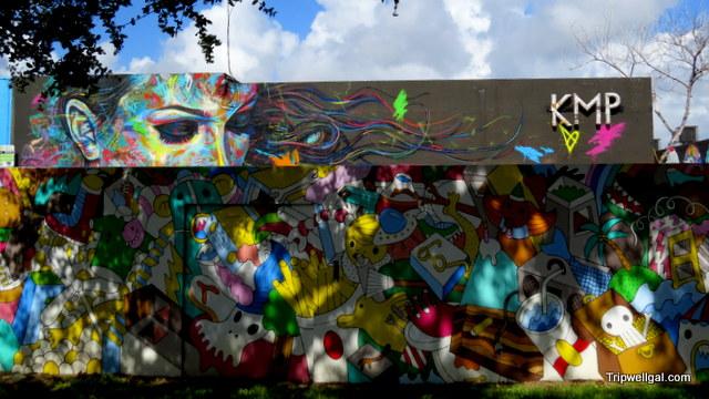 Murals Wynwood District, mural painting