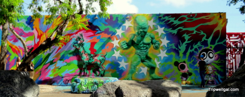 Wynwood Walls – Mural painting transforms a Miami neighborhood