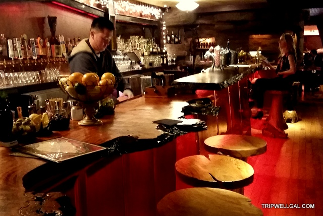 Downstairs bar at Clifton's Cafeteria