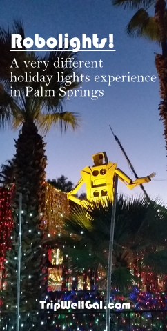 Robolights holiday lights now in Palm Springs