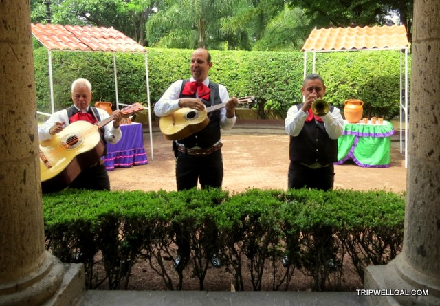 mariachis serenade on the Tequila Trail