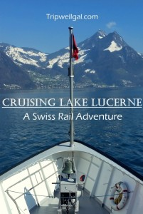Cruising Lake Lucerne pin 2