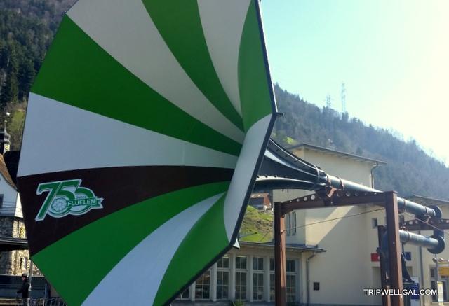 Fluelin Horn Swiss boat ride