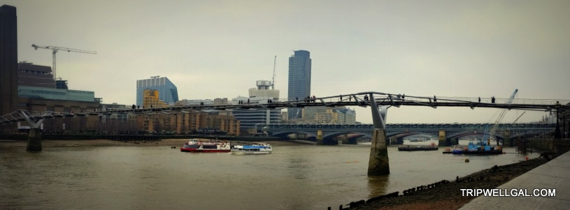 London Millennial Bridge